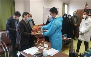 تجلیل مسئولین آموزش و پرورش و بسیج فرهنگیان استان کردستان از پرستاران