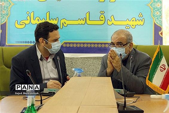 نشست خبری معاون بهداشت دانشگاه  جندی شاپور اهواز