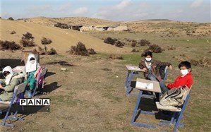 ایثارگری دختر شهید عبدالحسین شهریاری در جبهه تعلیم تربیت در روستای جیرفت