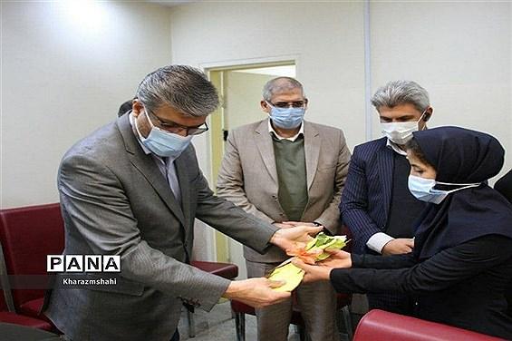 تقدیر فرماندار بهارستان از پرستاران بیمارستان امام حسین (ع)