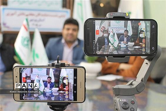 اولین نشست نمایندگان مجلس دانش آموزی استان بوشهر
