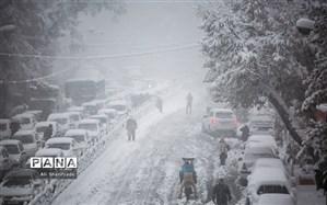 بارش شدید برف و باران در 13 استان کشور