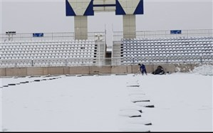 برف یک بازی هفته هشتم لیگ برتر را لغو کرد