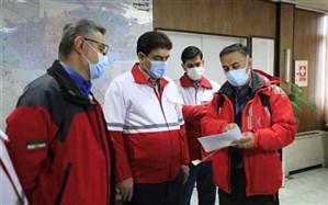 مانور ساعت صفر در استان تهران برگزار شد