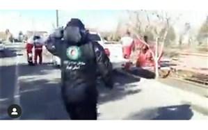 اعزام تیم های پیشرو و عملیاتی از دماوند به مانور کشوری زمین لرزه استان تهران