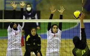 رقابت تیم والیبال خجسته اسلامشهردرمرحله نهایی لیگ برتر والیبال بانوان