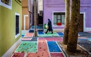 حکایت کوچههای رنگی تهران