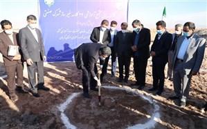 عملیات ساخت مجتمع آموزشی ۲۴ کلاسه شهرک صنعتی کرمان آغاز شد