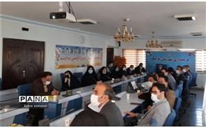 برگزاری جلسه شورای آموزش و پرورش و آغاز اجرای طرح نماد در شهرستان قرچک