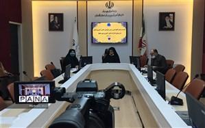 جلسه ویدئو کنفرانس مدیر سازمان دانش آموزی استان گلستان و روسای ادارات دانش آموزی استان