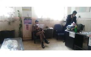 بازدید رئیس آموزش و پرورش چهاردانگه از مدارس این منطقه