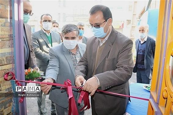 افتتاح مرکز یادگیری محلی سوادآموزی شهرستان قدس