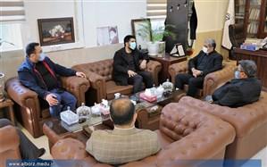 رییس فدراسیون کشتی با مدیرکل آموزش و پرورش البرز دیدار کرد
