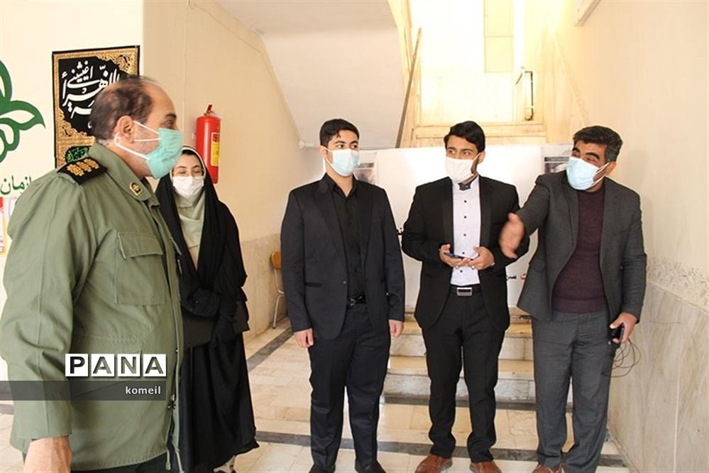بازدید رئیس بسیج فرهنگیا ن از خبرگزاری پانا