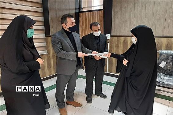 آیین تحلیف اعضای هیئت رئیسه مجلس دانشآموزی شهرستانهای مازندران