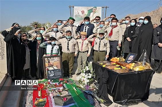 آیین گرامیداشت چهلمین روز درگذشت زنده یاد مجید جعفری