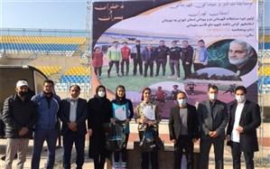 برگزاری مسابقات دو ومیدانی  قهرمانی استان تهران در اسلامشهر