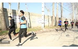 برگزاری مسابقات دو صحرانوردی استان تهران در ملارد