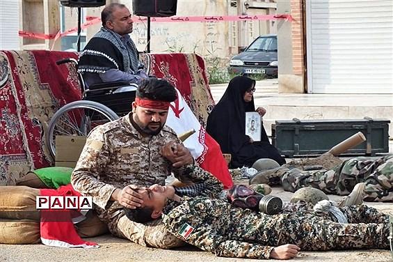 اجرای تئاتر پرفورمنس در شهرستان امیدیه