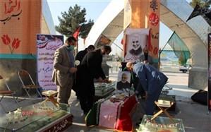 مراسم یادبود سردار شهید سلیمانی درمقبره شهدای گمنام اسلامشهر