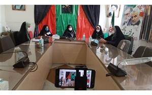 بصیرت سلیمانی ، میثاق فاطمی با حضور خانواده کاظمی شهید  مدافع حرم در البرز برگزار شد