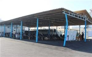 مراسم سالروز شهادت سردار سلیمانی در اداره کل آموزش و پرورش استان بوشهر برگزار شد