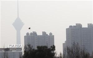 وضعیت قرمز هوای تهران در ۲۲ ایستگاه