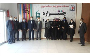 تجلیل از دانش آموزان برگزیده کشوری و استانی نیشابور
