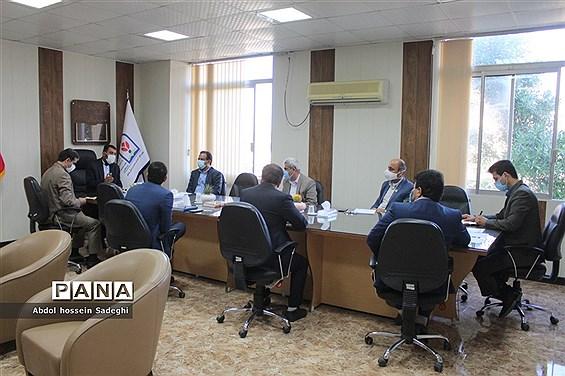 جلسه شورای  اداری معاونت پرورشی و فرهنگی ادارهکل آموزش و پرورش استان بوشهر