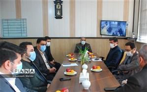 دیدار مدیر آموزش و پرورش ناحیه یک شهرری با نماینده مردم تهران در مجلس شورای اسلامی