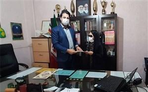 تجلیل از دانش آموزان منتخب البرزی با نیازهای ویژه در مسابقات کشوری قرآن ، عترت و نماز