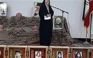 تقدیر از خانواده شهید مدافع حرم  مهدی قاضیخانی