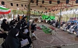 یادواره بصیرت فاطمی در مکتب شهید سلیمانی در چابهار برگزار  شد
