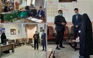 اهداء و توزیع 22 دستگاه تبلت به دانش آموزان شهرستان نهبندان