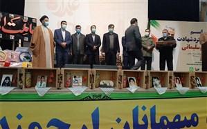 تقدیر از دانشآموزان مسابقات فرهنگی هنری در مراسم اختتامیه جشنواره فرهنگی هنری علمدار