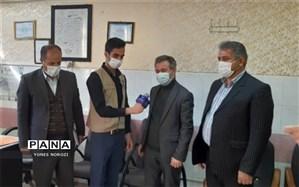بازدید اعضای مجمع سلامت و مدیر سازمان دانش آموزی استان از تشکیلات پیشتازان اسلام آباد غرب