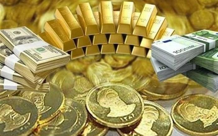 قیمت طلا، قیمت سکه، قیمت دلار