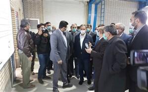 معاون اول رئیس جمهور از طرح آبیاری ۴۶ هزار هکتار از اراضی دشت سیستان بازدید کرد