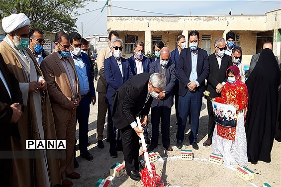 آغاز احداث مدرسه ۶ کلاسه در منطقه طویشه آبادان با مشارکت یک خیر مدرسهساز