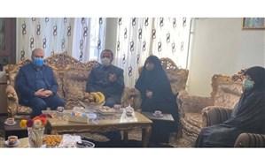 حضور «محمدزاده» در منزل مرحوم دیانی