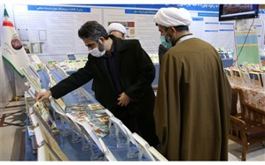 بازدید «تاریخی» از نمایشگاه «دستاوردهای مسئله محوری» تبلیغات اسلامی حوزه علمیه قم
