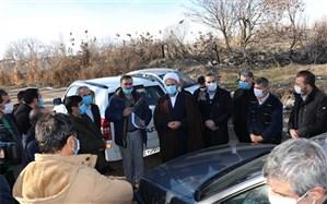 بستر و حریم رودخانه زنجانرود، برای پیشگیری از سیلابهای فصلی  لایروبی میشود