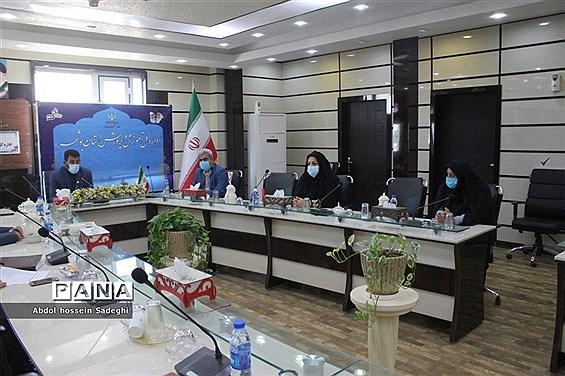 جلسه شورای عفاف و حجاب  ادارهکل آموزش و پرورش استان بوشهر