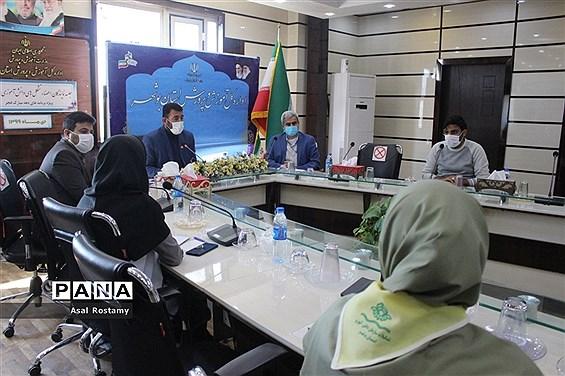 جلسه نمایندگان اعضا تشکلهای دانشآموزی استان بوشهر