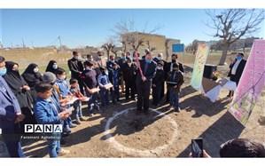 کلنگ زنی ساخت یک مدرسه در دیزقند تربت حیدریه