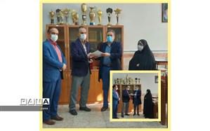 تجلیل از برگزیدگان مسابقات استانی قرآن، عترت و نماز فرهنگیان منطقه 10شهر تهران
