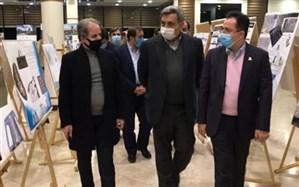 """بازدید حناچی از داوری آثار یادمان """"سرباز وطن"""""""