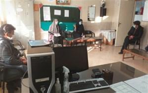 بازدید معاون پرورشی و تربیت بدنی جوادآباد از مدارس منطقه