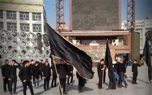 اجرای سرود خیابانی دانش آموزان منطقه ۱۵ به مناسبت ایام فاطمیه