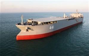 الحاق بزرگترین شناور نظامی کشور به نیروی دریایی ارتش